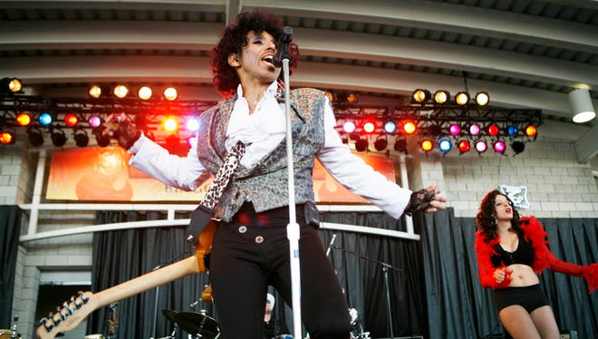 "Gabriel Sanchez's Prince Experience tribute band will headline the Riverside Theater Nov. 25 and perform ""Purple Rain"" front to back."
