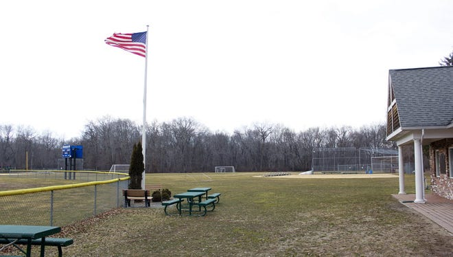 A file photo of Wakelee Field in 2012. A baseball field was reconstructed at the end of October 2016.