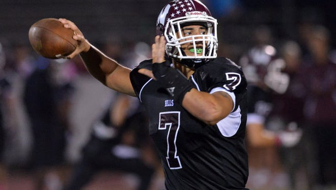 Wayne Hills QB Brendan Devera will look to lead the Patriots to their first sectional title since 2011.