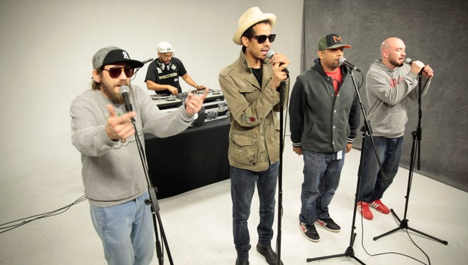 Veteran Milwaukee hip-hop crew the Rusty Pelicans performs at Colors & Chords tonight, a benefit for Islands of Brilliance, a Milwaukee non-profit offering creative and technology workshops for children and young adults with autism.