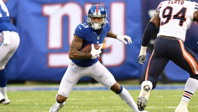 Wednesday was the second-year anniversary of Odell Beckham Jr.'s one-handed catch against the Cowboys.