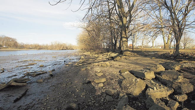 Lyndhurst police pulled a Newark woman from the Passaic River on Saturday morning.