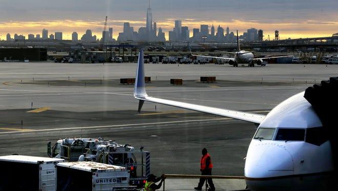 Terminal C, Newark Airport.