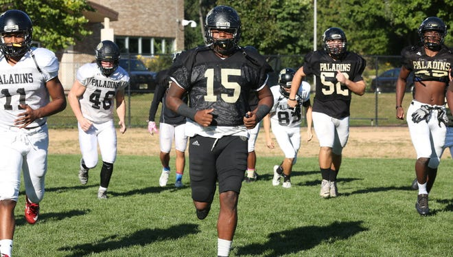 Defensive lineman Corey Bolds has led Paramus Catholic to the Non-Public Group 4 final, where it will face St. Peter's Prep.