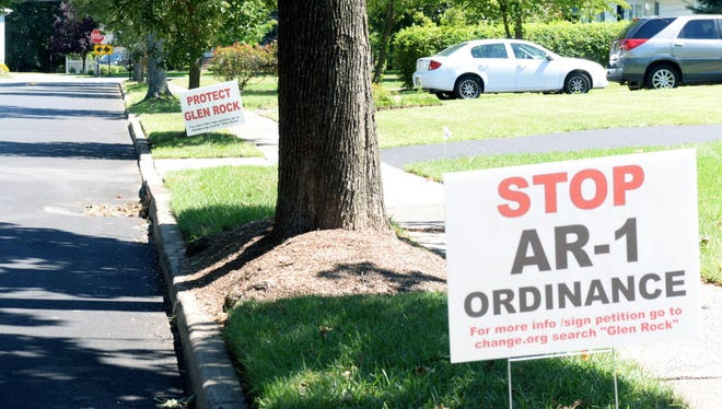 Many Glen Rock residents opposed a proposal for a 54-unit, 55-and-older development on Prospect Street that the council rejected in September. The property's developer is seeking a use variance to proceed with a new proposal.