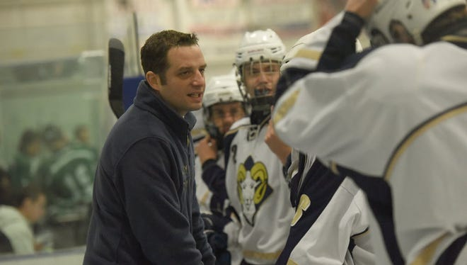 Coach Dean Portas helped lead Ramsey to the Public B championship last season.
