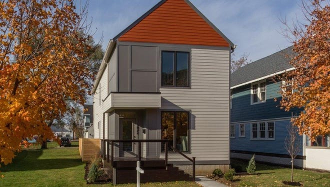 The home in Herron-Morton Place was completed in November.