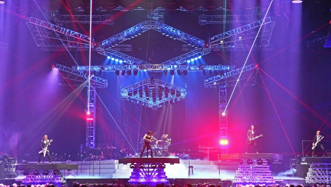 After skipping Milwaukee in 2015, Trans-Siberian Orchestra returned to the BMO Harris Bradley Center Sunday for two shows.