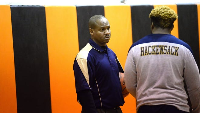 Hackensack coach Aaron Taylor hopes his team can bounce back from an 0-2 start.