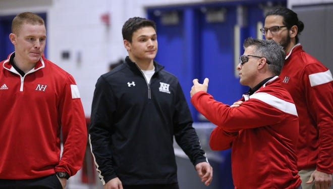 Northern Highlands' Shane Sosinsky is expected to be in the running for the 182-pound title at this year's Bergen County Holiday Tournament.