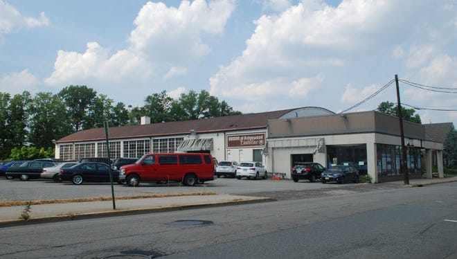 The former Brogan Cadillac site in is one of the Ridgewood properties slated for redevelopment.