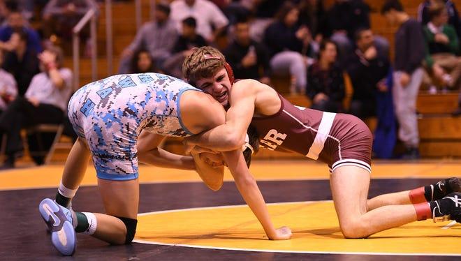 Emerson/Park Ridge's Luke Mazzeo captured the 126-pound title at last week's BCCA George Jockish Holiday Tournament.
