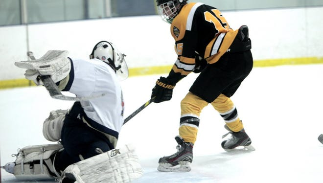 Chris Dressler, right, could be an X-factor for West Milford in the Passaic County tournament.