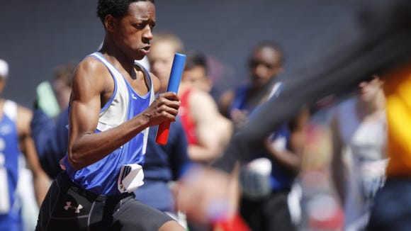 Joshua Heber of Teaneck, shown from last spring's Penn Relays.