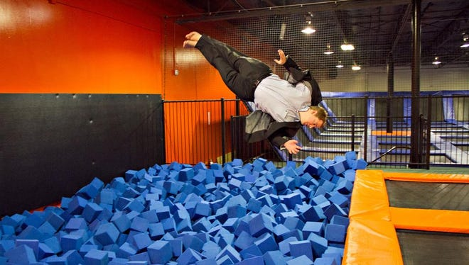 Urban Air Trampoline & Adventure Park is coming to Trinity Commons, in space that once included an Edwin Watts golf shop.