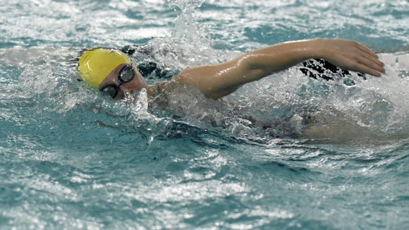 Indian Hills' senior Jamie Yadoff will be going for her third Bergen County title in the 50-yard freestyle.