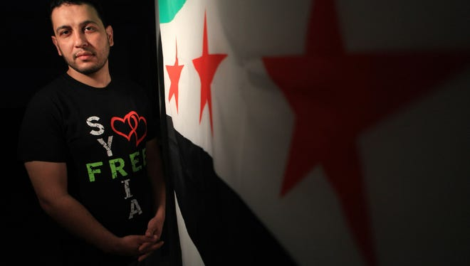 Hamid Imam, a Syrian activist in Paterson, worries that families will be torn apart by President  Donald Trump's proposed refugee ban.