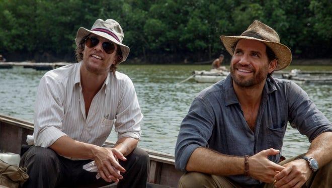 "Matthew McConaughey, left, and Edgar Ramirez star in ""Gold."""