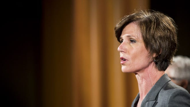 Sally Yates at the Department of Justice on June 28, 2016.