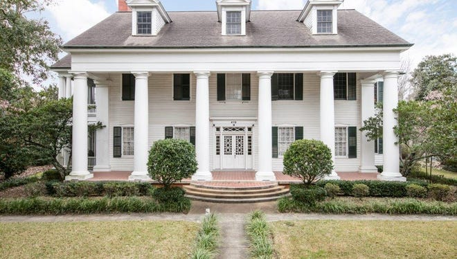 This 7 bedroom, 3 1/2 bath home has 5, 795 square feet and is listed at $1,350,000. It is located at 419 N Court Street in Opelousas.