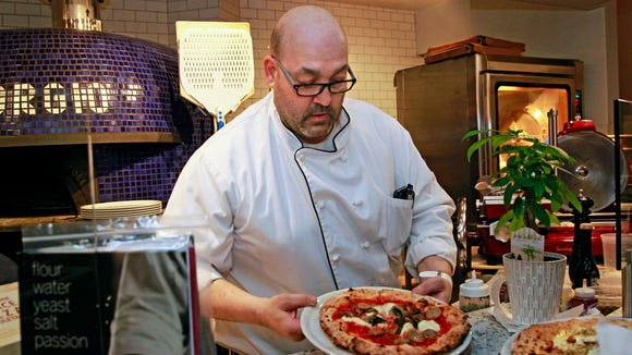 Gino Fazzari, owner and executive chef of Pizzeria San Giorgio  at 838 N. Old World 3rd St., plans to serve pizza like those made in Naples, Italy, when the restaurant opens in February.