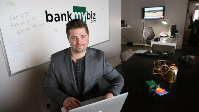 Former banker Michael Adam leads Milwaukee-based small-business lender Bankmybiz.com.