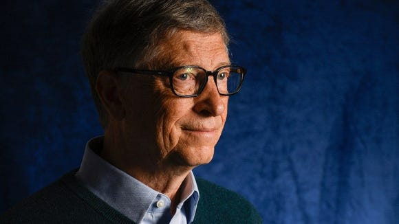 Bill Gates, cofounder of Microsoft and now co-chairman