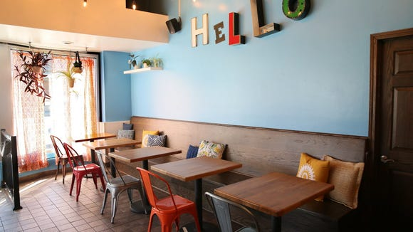 The fast-casual Hello Falafel is at 2301 S. Howell Ave. in Milwaukee.