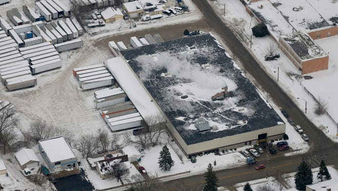 The Mid-America Steel Drum plant in St. Francis has been cited for environmental problems.