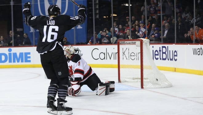 Games like this Devils-Islanders contest on Sunday, as well as Rangers games, will be live-streamed beginning next month.