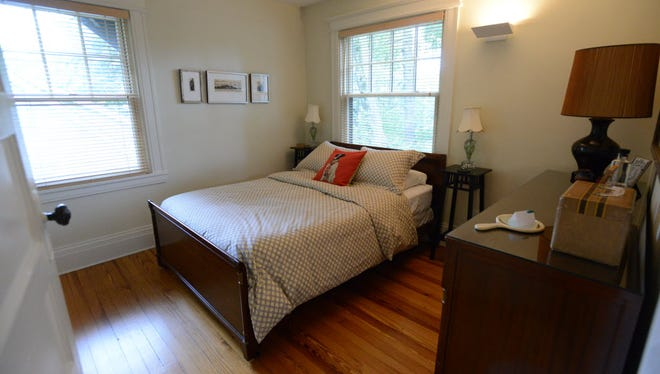 This Leonia home has been rented out on Airbnb; such rentals on Monday were the subject of a hearing on an Assembly bill regulating such transactions.
