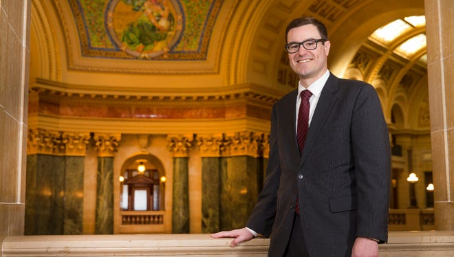 Jay Risch last week was promoted to secretary of the Wisconsin Department of Financial Institutions.