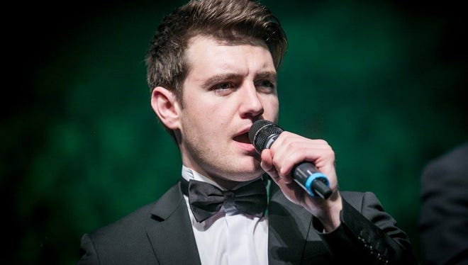 Emmet Cahill, a member of Celtic Thunder, is back in Vero Beach this weekend, fresh from his St. Patrick's Day eve Carnegie Hall debut.