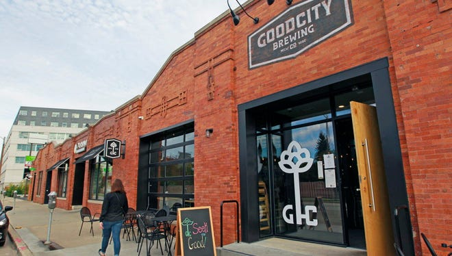 Good City Brewing Co., 2108 N. Farwell Ave., wants to add seating and a possible rooftop patio in a vacant storefront to the south (to the right of the entrance in the photo).