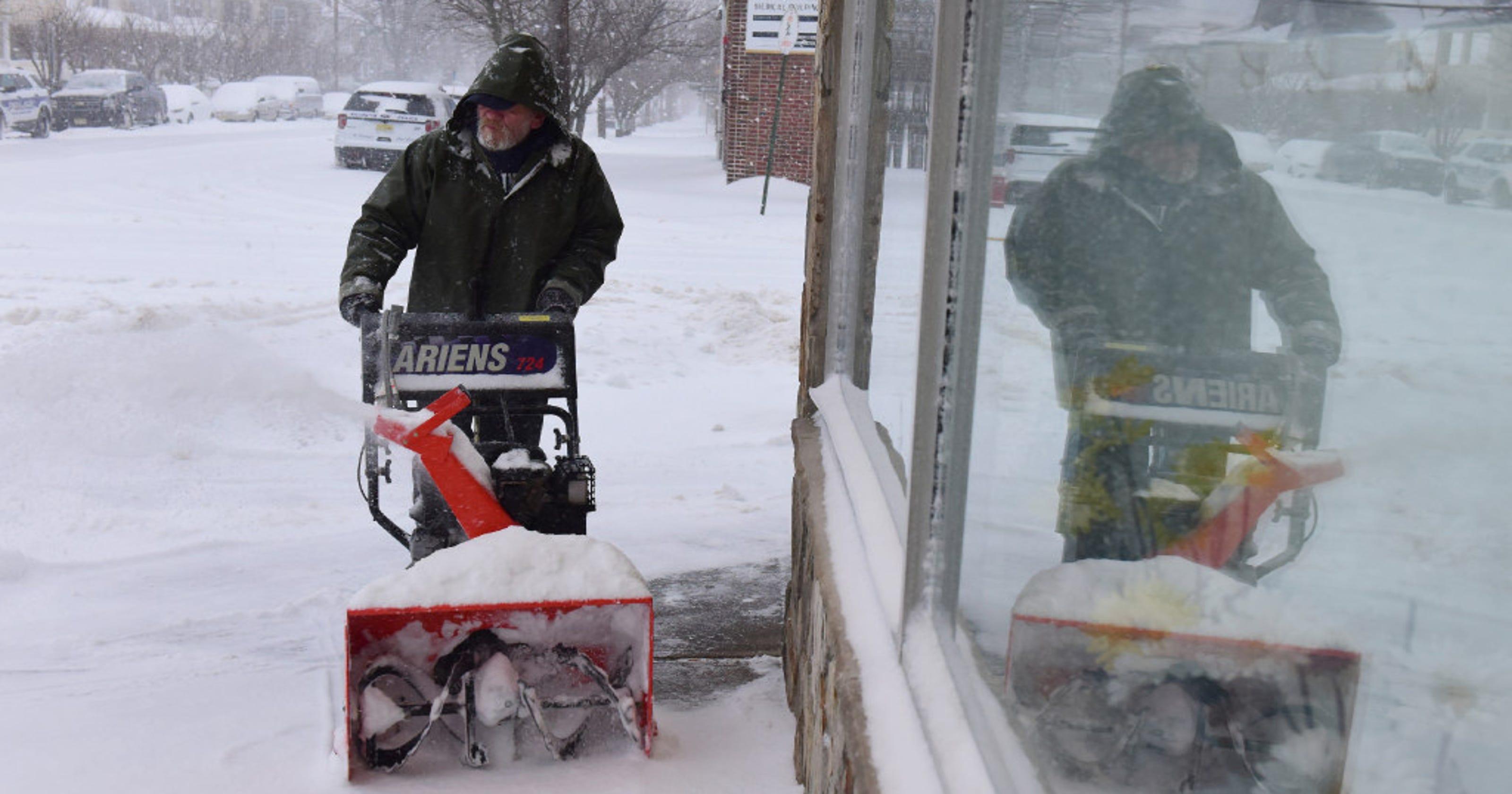 Snowstorm updates from Bergen County