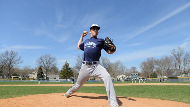 Eric Rosenberg of Paramus didn't allow an earned run in 10 innings last week for William Paterson.