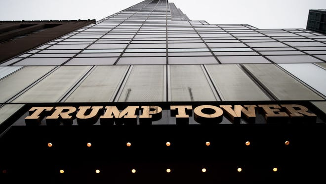 Trump Tower in New York.