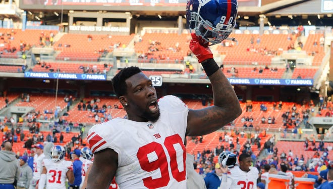 The Giants reached agreement with Jason Pierre-Paul on a multiyear deal, a source confirmed for The Record.