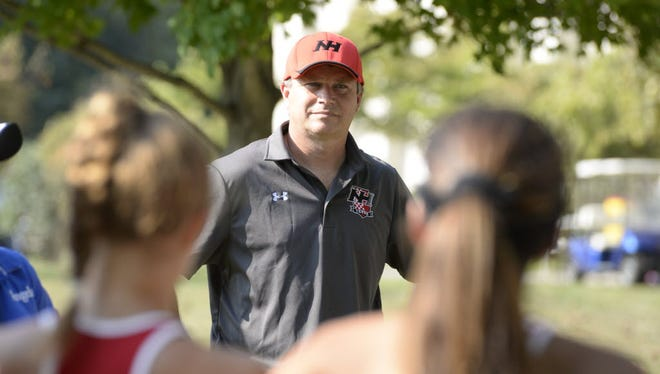 Coach Chris Broking led Northern Highlands to an 18-7 record last season.