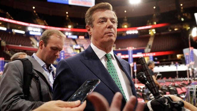 Paul Manafort at the Republican National Convention in Cleveland on July 16, 2016.