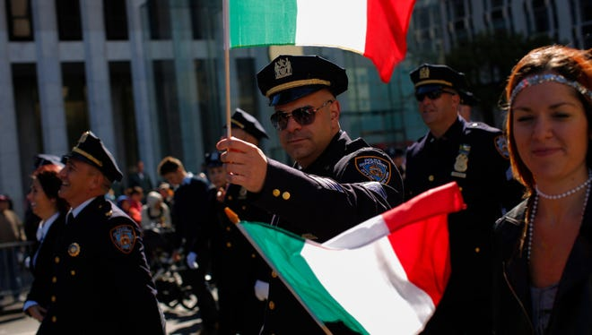 Columbus Day parade in 2016 in New York.