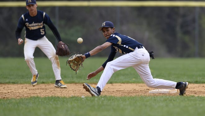 Senior shortstop Manny Mendez has an outstanding glove and can handle the bat for Hackensack.