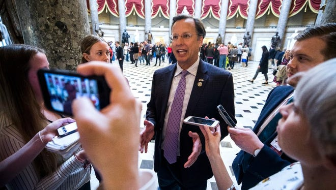 House Freedom Caucus member Dave Brat.