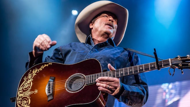 Country star Alan Jackson, shown headlining the UW-Milwaukee Panther Arena last April, returns to the Milwaukee area for a Wisconsin State Fair show Aug. 13.