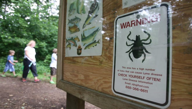 New Jersey has already seen Lyme disease cases skyrocket to 4,855 in 2015 from 3,286 the year before. 2016 numbers are not yet available.