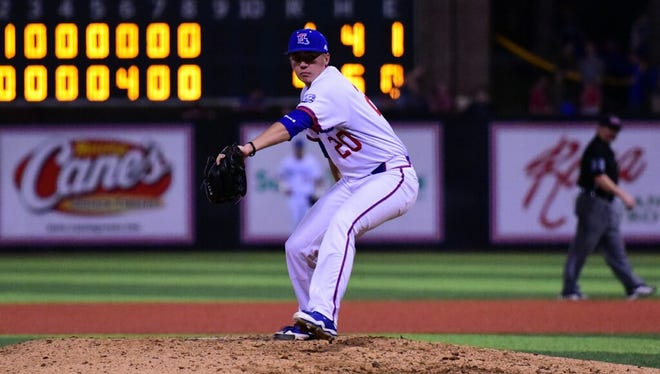 Louisiana Tech pitcher Nate Harris has joined the weekend rotation after serving as the Bulldogs' closer to begin the year.