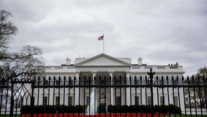 The White House on April 7, 2017.