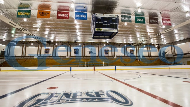The Ira Wilson Ice Arena at SUNY Geneseo is a cherished  hub of activity and where the spirit of hockey - and community - live in the Livingston County village.