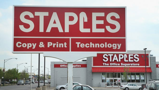 Staples to lease 25,000 square feet of warehouse space at the Delaware River Industrial Park.