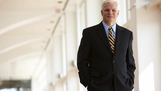Badger Meter CEO Richard Meeusen.